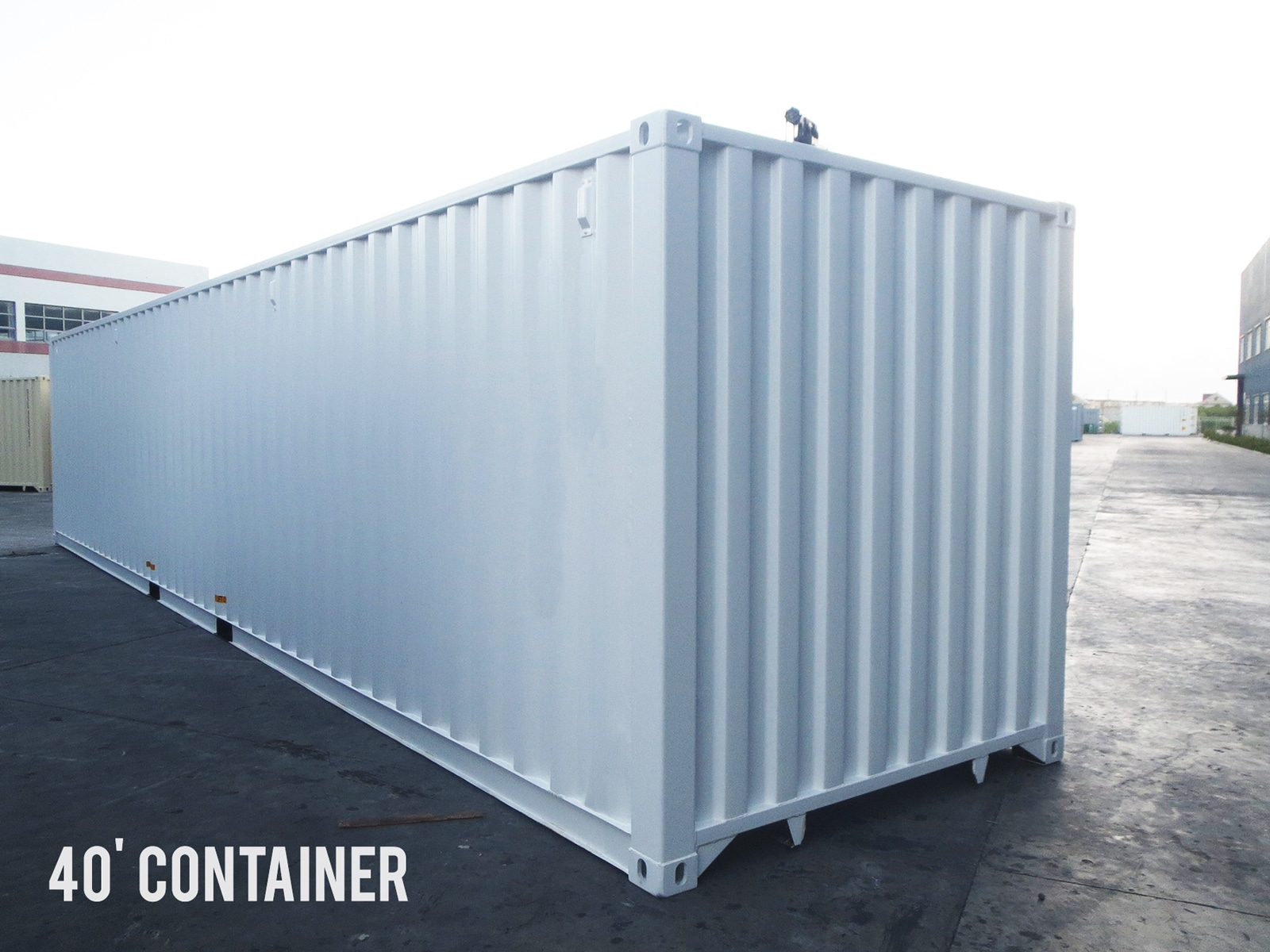 Shipping containers storage bin 40 front
