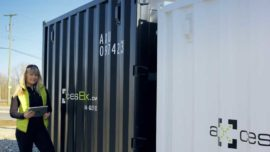 Axcess box Shipping container rent buy Vancouver