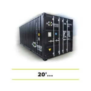 Axcess box shipping container 20 used rent