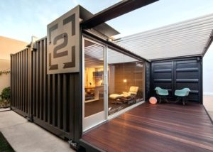 Shipping Container Office in Vancouver
