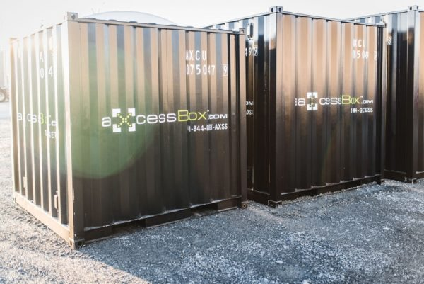 Axcess box storage black mississauga shipping containers