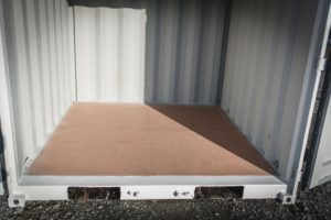 Axcess box storage interior shipping containers