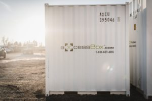 Axcess box storage mobile shipping containers
