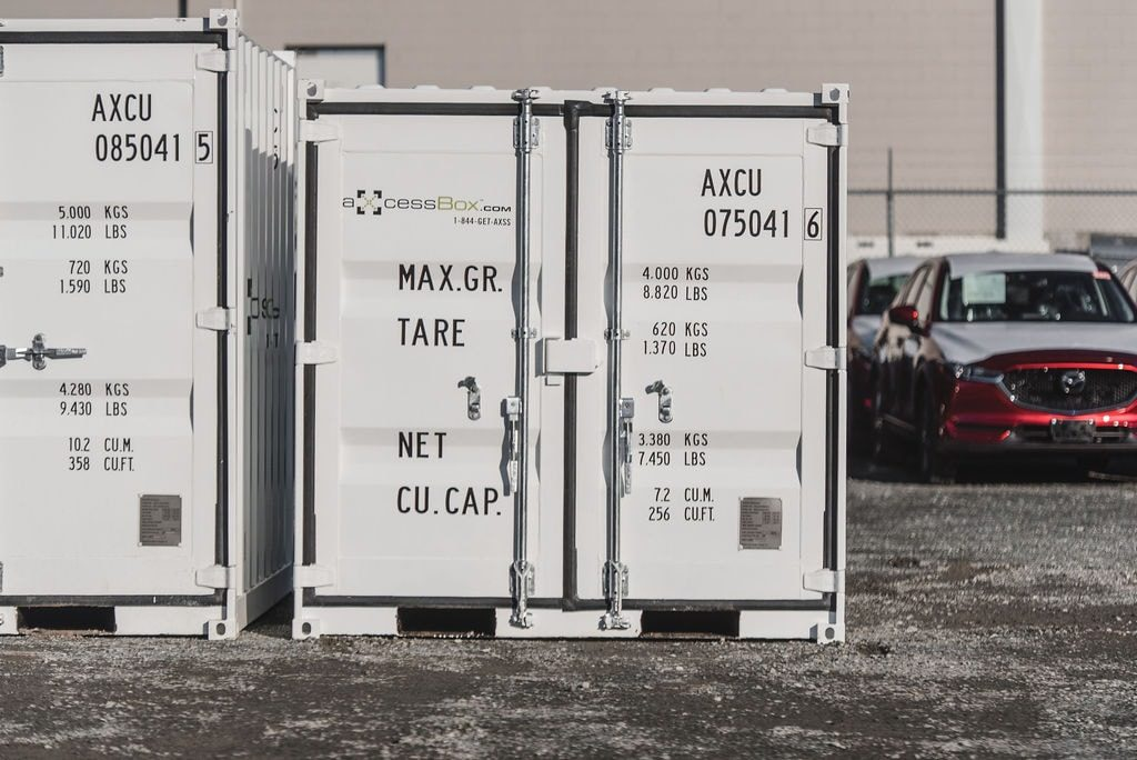 Axcess box storage toronto shipping containers