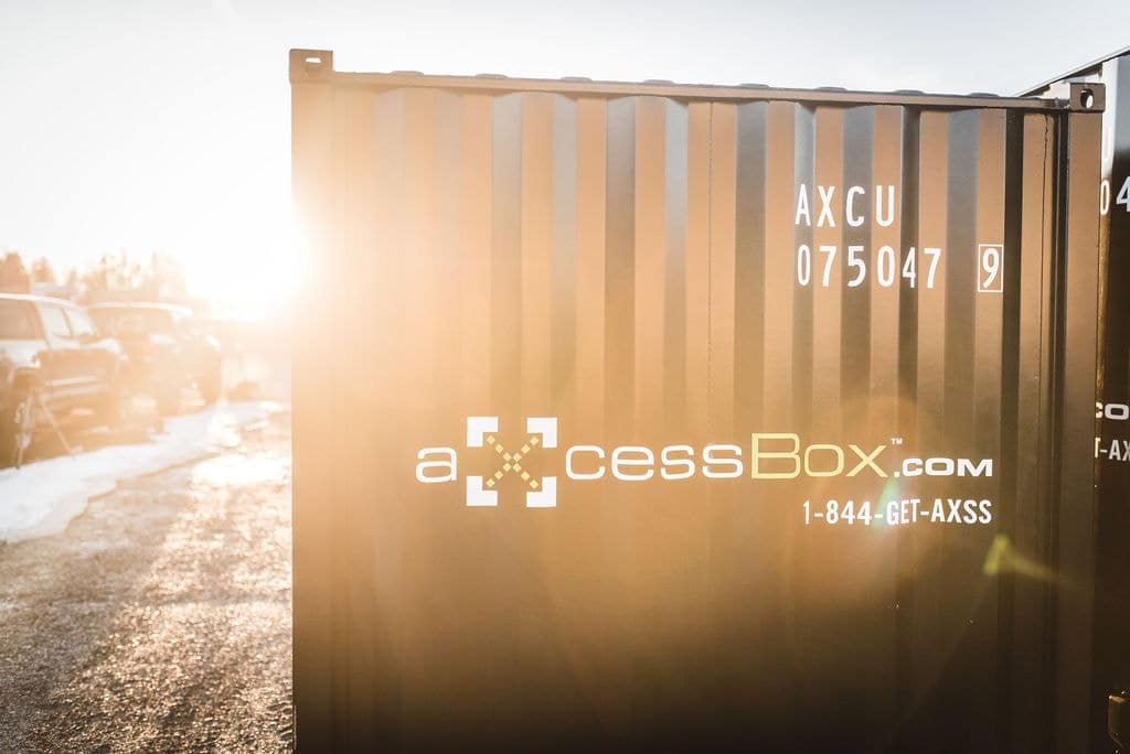 Buy used shipping containers for storage axcess box - Modular home resale value ...