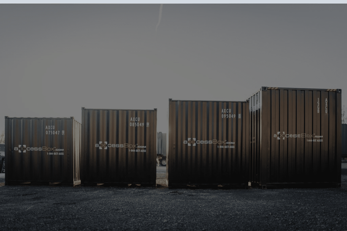 axcess box shipping container for sale BC